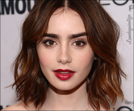 NEW YORK, NY - NOVEMBER 11:  Actress Lily Collins attends Glamour's 23rd annual Women of the Year awards on November 11, 2013 in New York City.  (Photo by Larry Busacca/Getty Images for Glamour)
